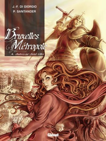 Couverture de l'album Bruxelles Métropole - 4. Ombres sur Saint-Gilles
