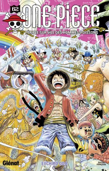 Couverture de l'album One Piece - 62. Périple sur l'île des hommes poissons