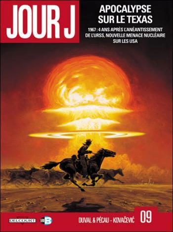 Couverture de l'album Jour J - 9. Apocalypse sur le Texas
