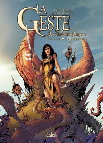 Couverture de l'album La Geste des Chevaliers Dragons - 14. La Première