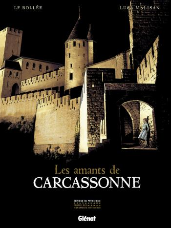 Couverture de l'album Les Amants de Carcassonne (One-shot)