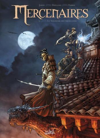 Couverture de l'album Mercenaires - 2. Le Seigneur des Trois Cités