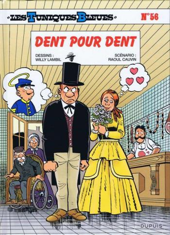 Couverture de l'album Les Tuniques bleues - 56. Dent pour dent