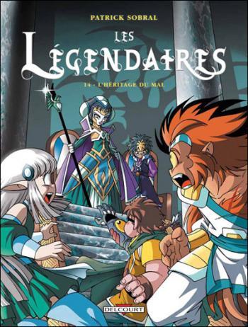Couverture de l'album Les Légendaires - 14. L' Héritage du Mal