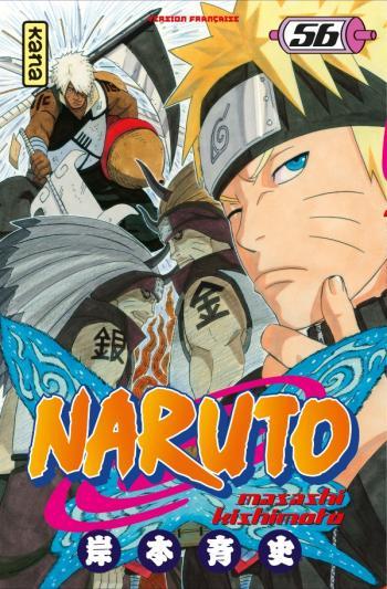 Couverture de l'album Naruto - 56. Tome 56
