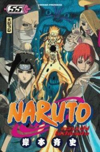 Couverture de l'album Naruto - 55. Tome 55