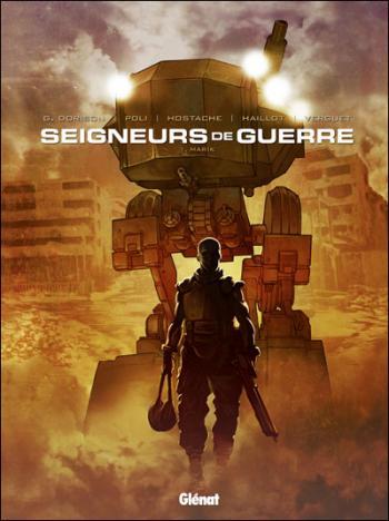 Couverture de l'album Seigneurs de guerre - 1. Marik