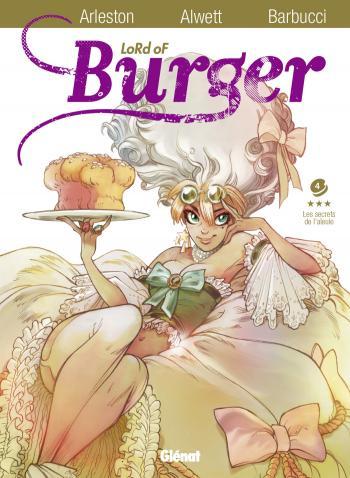 Couverture de l'album Lord of Burger - 4. Les Secrets de l'aïeule