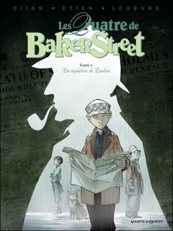 Couverture de l'album Les Quatre de Baker Street - 4. Les orphelins de Londres