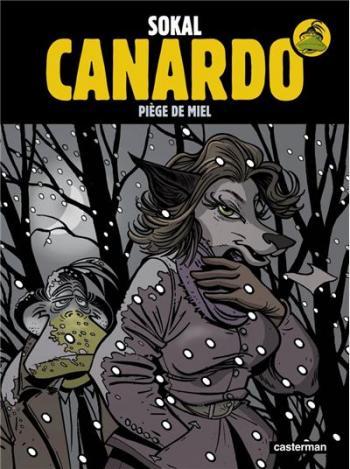Couverture de l'album Une enquête de l'inspecteur Canardo - 21. Piège de miel