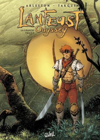 Couverture de l'album Lanfeust Odyssey - 4. La Grande Traque