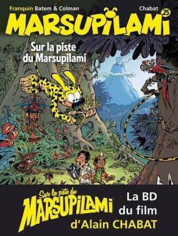 Couverture de l'album Marsupilami - 25. Sur la piste du Marsupilami