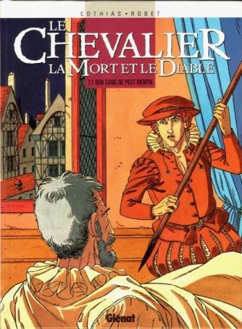 Couverture de l'album Le Chevalier, la Mort et le Diable - 1. Bon sang ne peut mentir