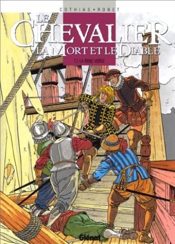 Couverture de l'album Le Chevalier, la Mort et le Diable - 2. La reine vierge