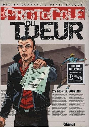 Couverture de l'album Le Protocole du tueur - 2. Mortel Souvenir