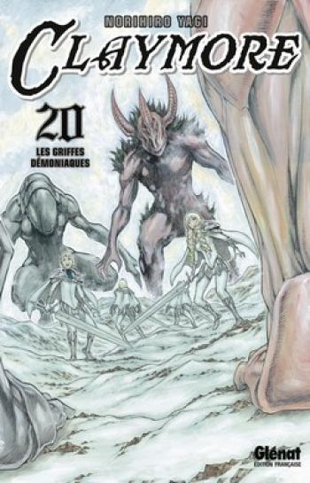 Couverture de l'album Claymore - 20. Les griffes démoniaques