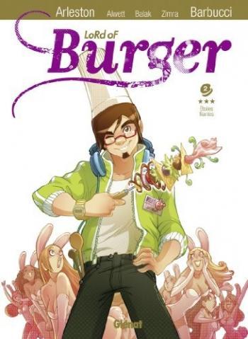 Couverture de l'album Lord of Burger - 2. Etoiles filantes