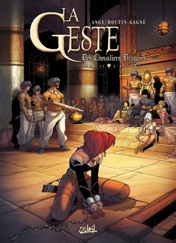 Couverture de l'album La Geste des Chevaliers Dragons - 15. L'ennemi