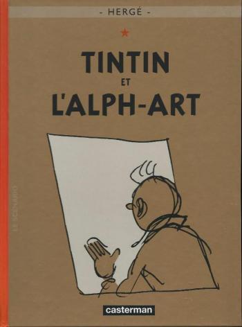 Couverture de l'album Les Aventures de Tintin - 24. Tintin et l'Alph-Art