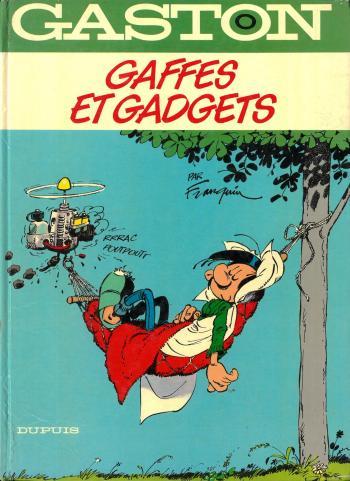 Couverture de l'album Gaston (Série dite classique) - 0. Gaffes et gadgets