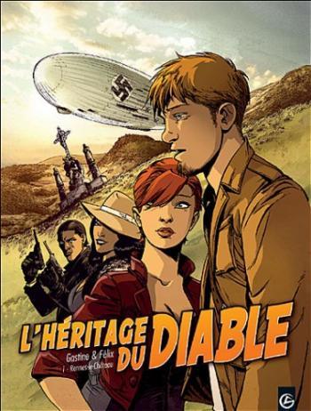 Couverture de l'album L'Héritage du diable - 1. Rennes-le-Château