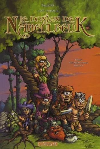 Couverture de l'album Le Donjon de Naheulbeuk - 3. Deuxième saison- Partie 1