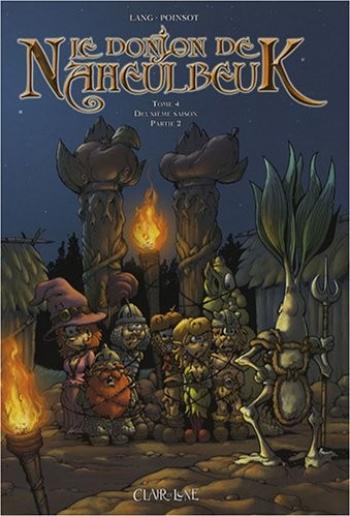 Couverture de l'album Le Donjon de Naheulbeuk - 4. Deuxième saison - Partie 2