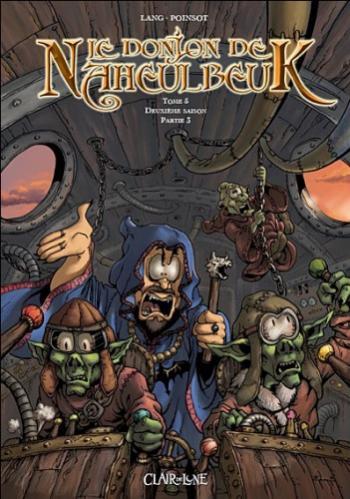 Couverture de l'album Le Donjon de Naheulbeuk - 5. Deuxième saison - Partie 3