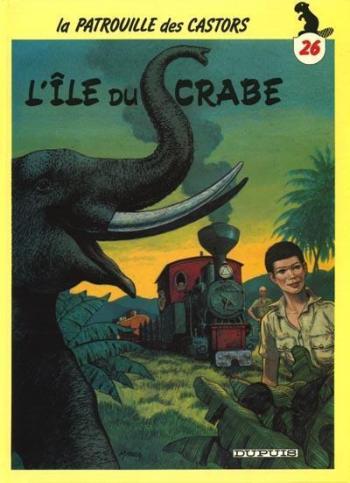 Couverture de l'album La Patrouille des Castors - 26. L'Île du Crabe