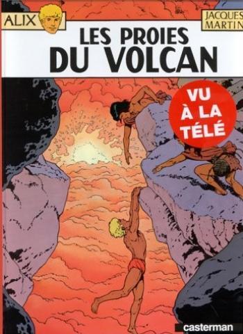 Couverture de l'album Alix - 14. Les proies du volcan