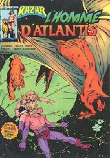 Couverture de l'album Ka-Zar - 3. L'homme d'Atlantis