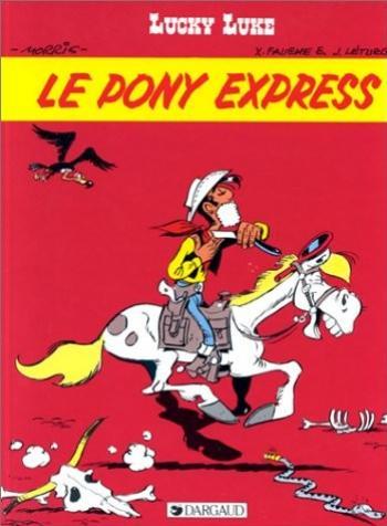 Couverture de l'album Lucky Luke - 59. Le Pony Express