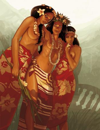 Couverture de l'album Papeete 1914 - COF. Papeete 1914 (Coffret) - Tomes 1 à 2