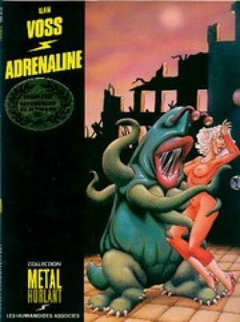 Couverture de l'album Adrénaline (One-shot)