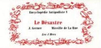 Couverture de l'album Encyclopédie antipodiste - 5. Le désastre