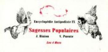 Couverture de l'album Encyclopédie antipodiste - 9. Sagesses populaires