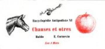 Couverture de l'album Encyclopédie antipodiste - 11. Chauses et Otres