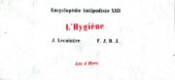 Couverture de l'album Encyclopédie antipodiste - 13. L'hygiène