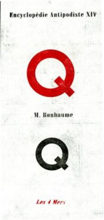 Couverture de l'album Encyclopédie antipodiste - 14. Q