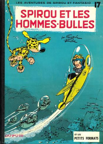 Couverture de l'album Spirou et Fantasio - 17. Spirou et les hommes-bulles