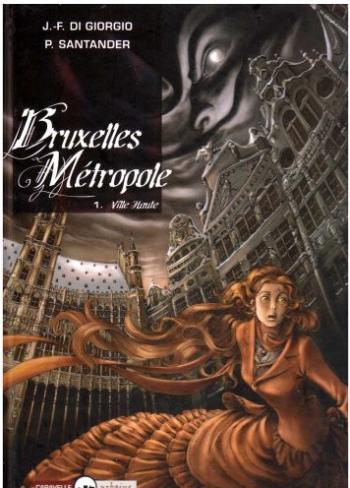 Couverture de l'album Bruxelles Métropole - 1. Ville Haute