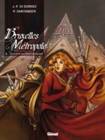 Couverture de l'album Bruxelles Métropole - 3. Meurtres au chalet Robinson