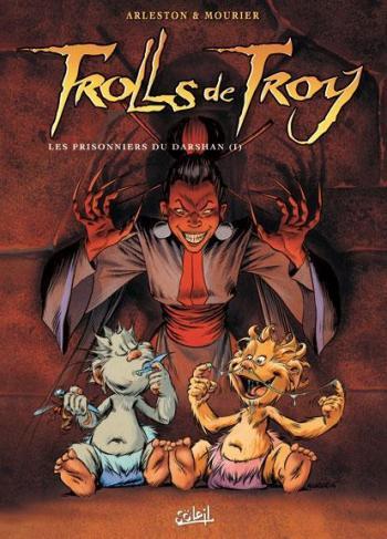 Couverture de l'album Trolls de Troy - 9. Les Prisonniers du Darshan