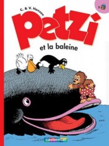 Couverture de l'album Petzi (Deuxième série) - 3. Petzi et la baleine