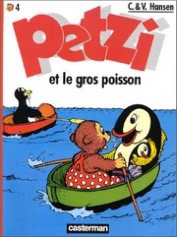 Couverture de l'album Petzi (Deuxième série) - 4. Petzi et le gros poisson