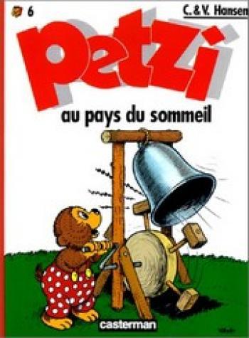 Couverture de l'album Petzi (Deuxième série) - 6. Petzi au pays du sommeil