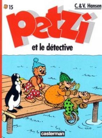 Couverture de l'album Petzi (Deuxième série) - 15. Petzi et le détective