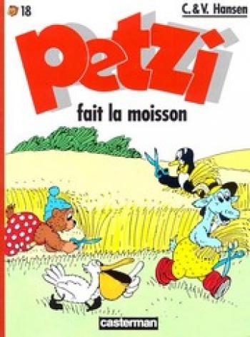 Couverture de l'album Petzi (Deuxième série) - 18. Petzi fait la moisson