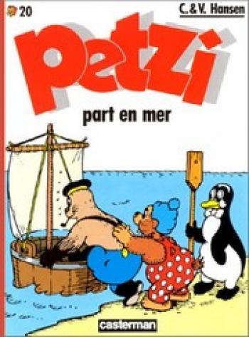 Couverture de l'album Petzi (Deuxième série) - 20. Petzi part en mer
