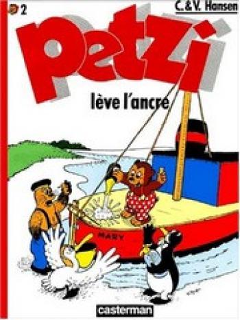 Couverture de l'album Petzi (Deuxième série) - 2. Petzi lève l'ancre